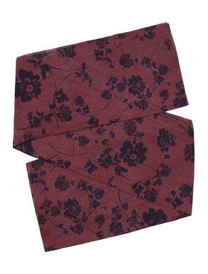 Sciarpa di cotone/seta stampato