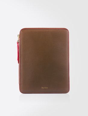 Custodia porta iPad in pelle