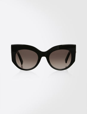 Bold cat-eye sunglasses