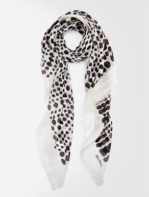 Linen and modal foulard
