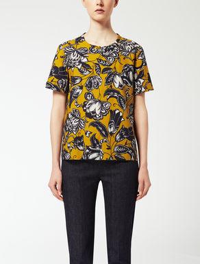 T-shirt en popeline de coton