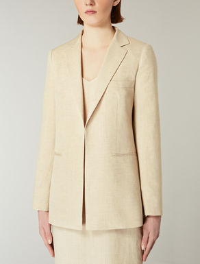 Wool, mohair and linen blazer