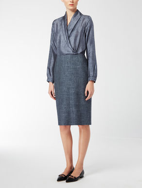 Kleid aus Seidentwill