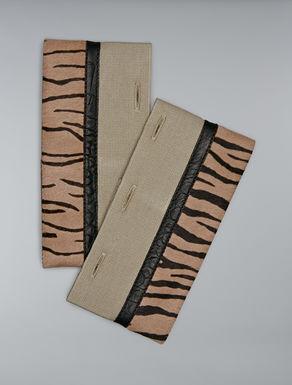Ponyskin cuffs