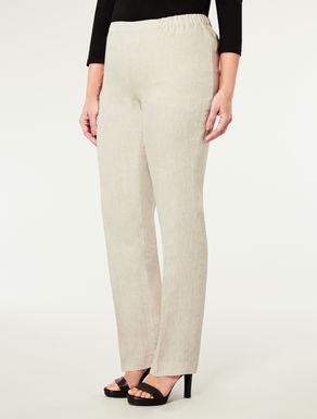Pantalone classico in lino