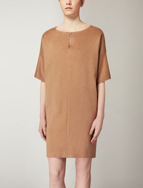 Pure camel dress