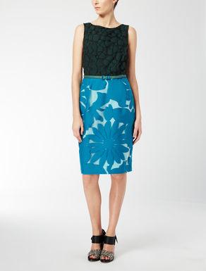 Prinzesskleid aus Baumwolle und Seide