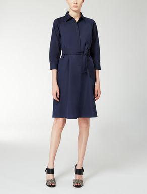 Vestido de poplin de algodón