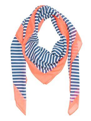 Maxi foulard a righe