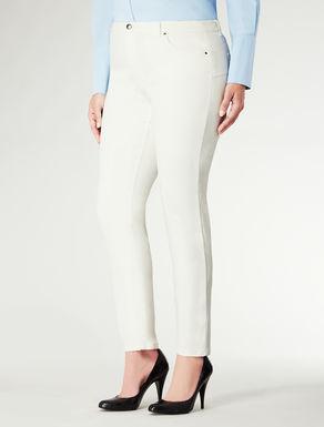 Jeans in finta pelle