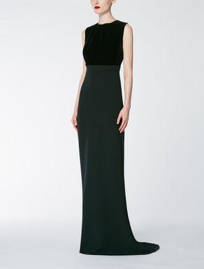 Velvet and cady dress