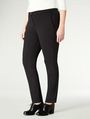 Pantaloni attillati a vita bassa