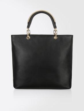 Shopping bag in nappa