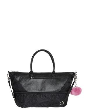 Nylon handbag with print