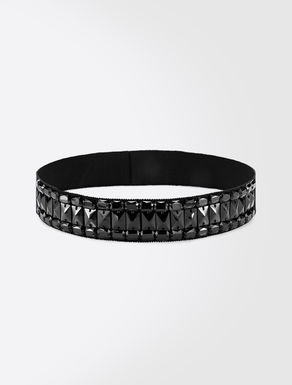 Grosgrain jewel belt