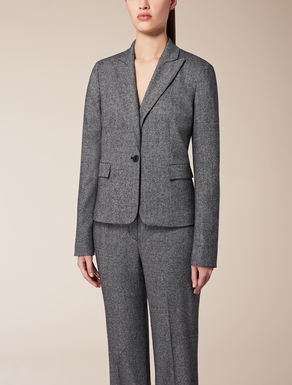 Wool and viscose jacket