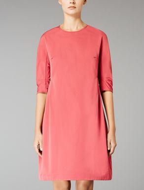 Cotton faille dress