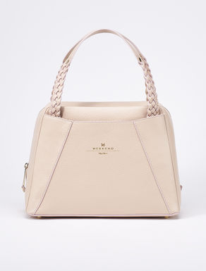 Pastel coloured box satchel