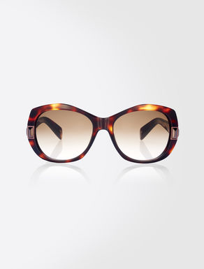 Butterfly oversize sunglasses