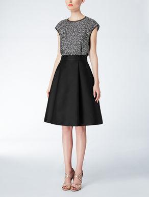 Duchesse fabric skirt