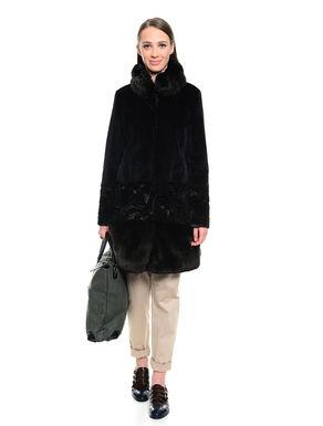 Cappotto in pelliccia sintetica