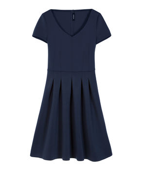 Corolla Dress di tessuto scuba