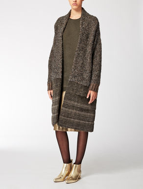 Wool, cashmere and mohair coat
