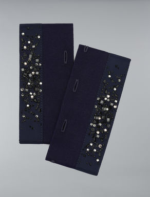 Embroidered cuffs