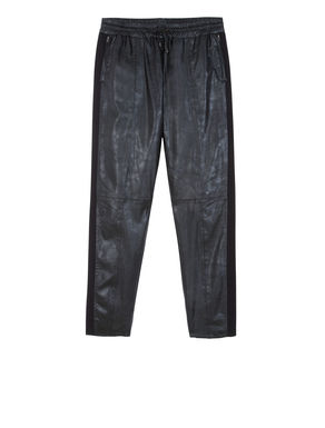 Pantaloni jogging con bande laterali