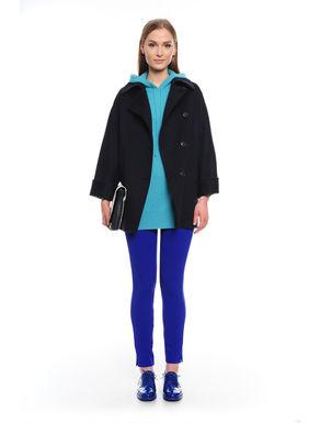 Cappotto in doppio drap di lana
