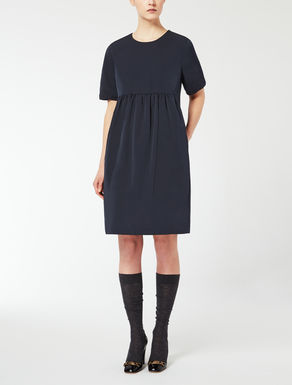 Cotton faille dress