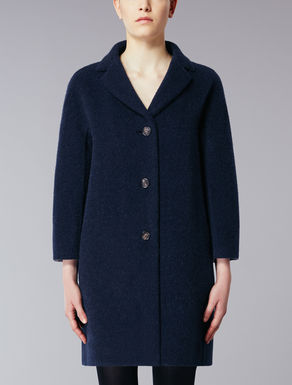 Wool and alpaca coat