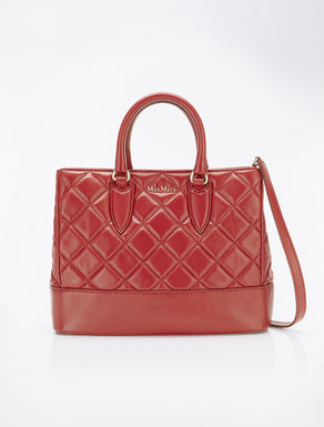 Ginevra leather matelass_ bag