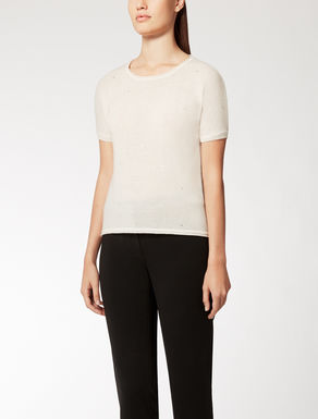 Wool and cashmere knit top