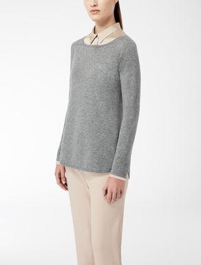Pull en laine et soie stretch