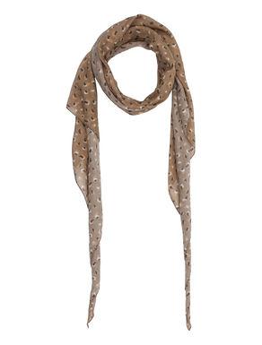 Sciarpa stampata di seta/cotone