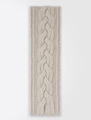 Sciarpa in lana e cachemire