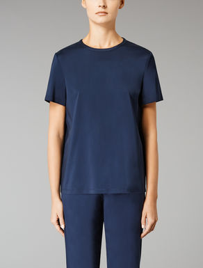 Viscose twill T-shirt
