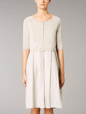 Cotton knit shrug