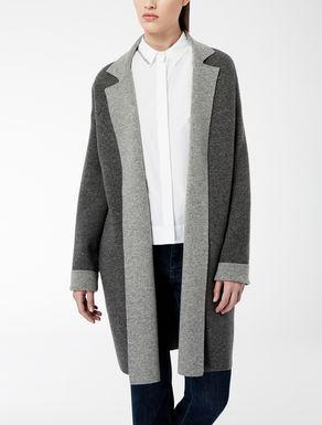 Manteau réversible en laine