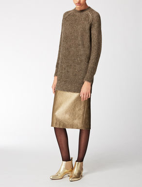 Cashmere and mohair knitwear