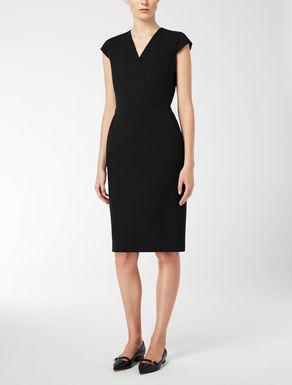 Kleid aus Wollkrepp