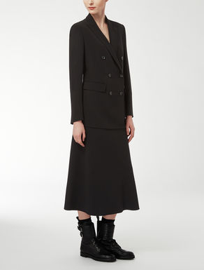 Pure wool crepe jacket