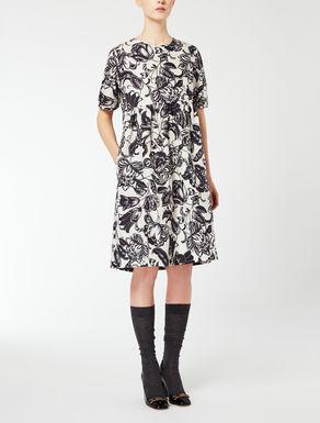 Vestido de faille de algodón