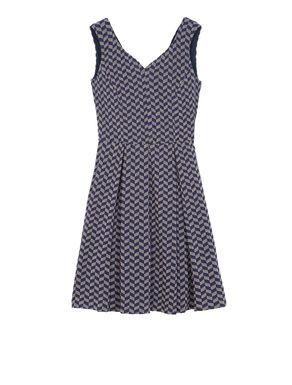 Corolla Dress di jersey jacquard
