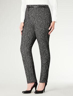 Pantalone slim in jersey