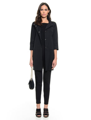 Cappotto in faille stretch