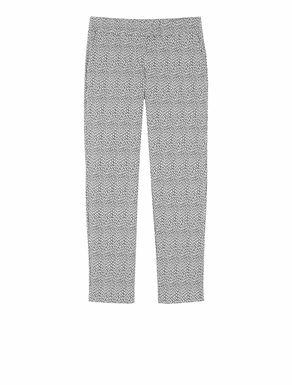Pantaloni slim fit di tessuto stretch