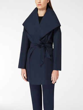 Water-resistant twill coat