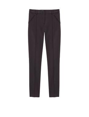 Pantaloni skinny di tessuto stretch